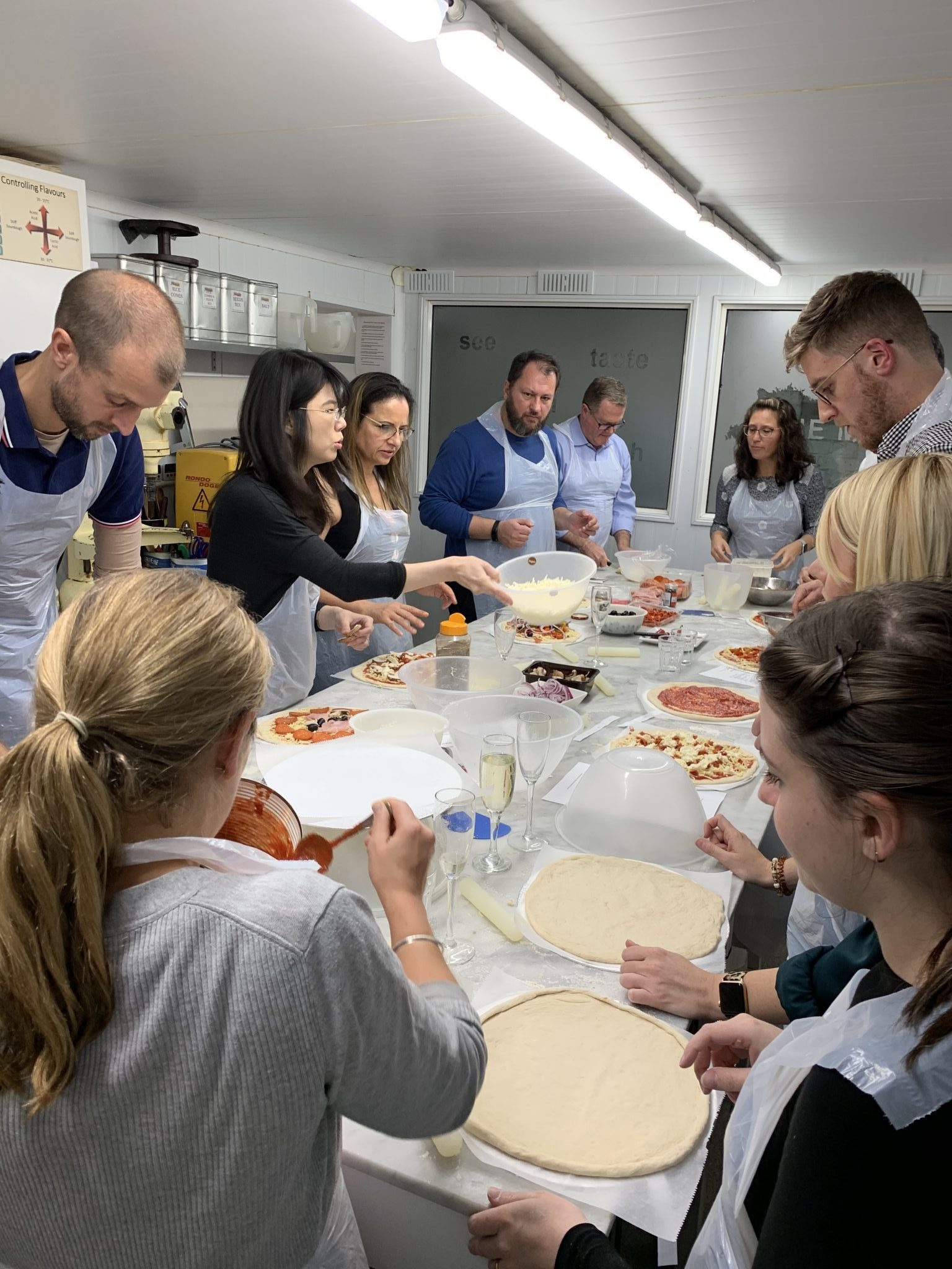 pizza making event 2